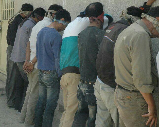 هشت طراح اصلی سرقتهای شبانه در نیشابور دستگیرشدند