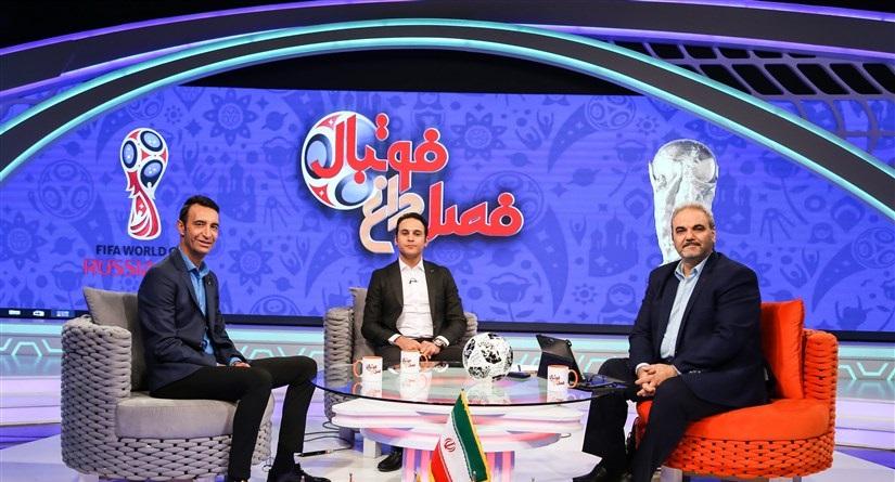 پخش برنامه فصل داغ فوتبال با اجرای جواد خیابانی امشب از شبکه سه