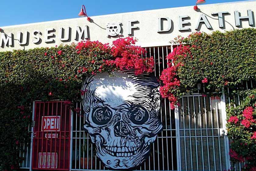 موزه مرگ؛ ویترین سیاهی و تاریکی + تصاویر