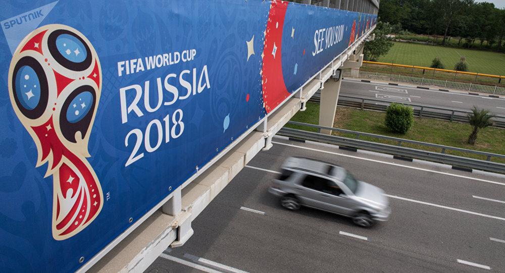 برخورد خودرو با عابران پیاده در شهر «سوچی» روسیه
