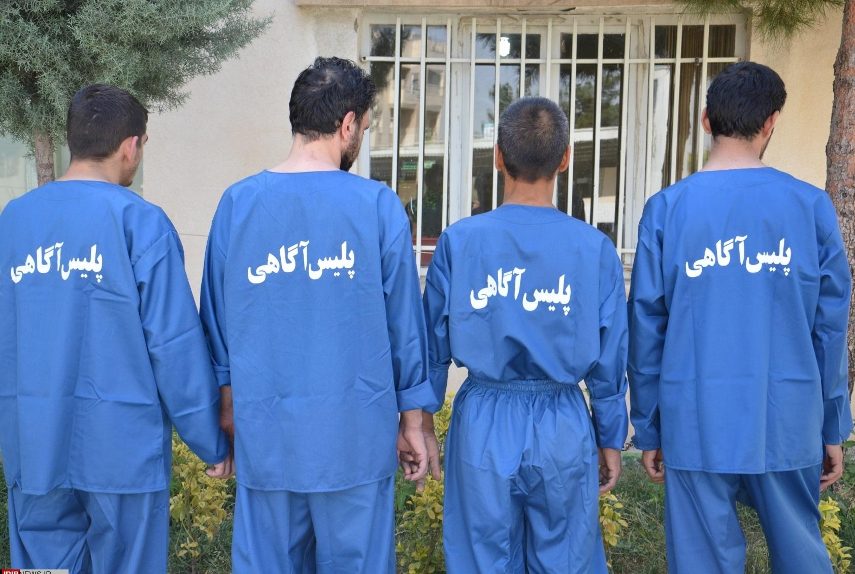 ۲۴ سارق حرفهای در دشتستان به دام پلیس افتادند