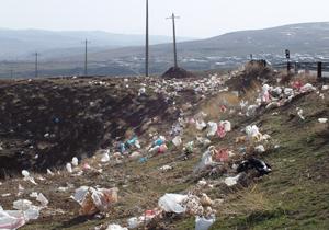 دشت زبالهها در