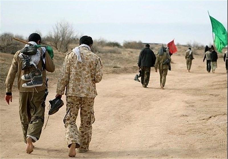 اعزام ۲۰۰ بسیجی از شهرستان دشتی به مناطق عملیاتی غرب کشور