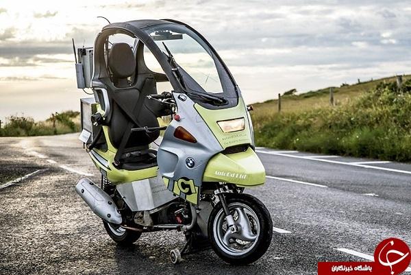 بیامو موتورسیکلت مجهز به فناوری خودران را معرفی کرد+ فیلم