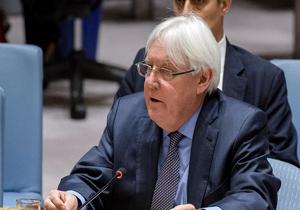 ادعای گریفیتس درباره دستیابی به توافقی برای مشارکت سازمان ملل در اداره بندر الحدیده یمن