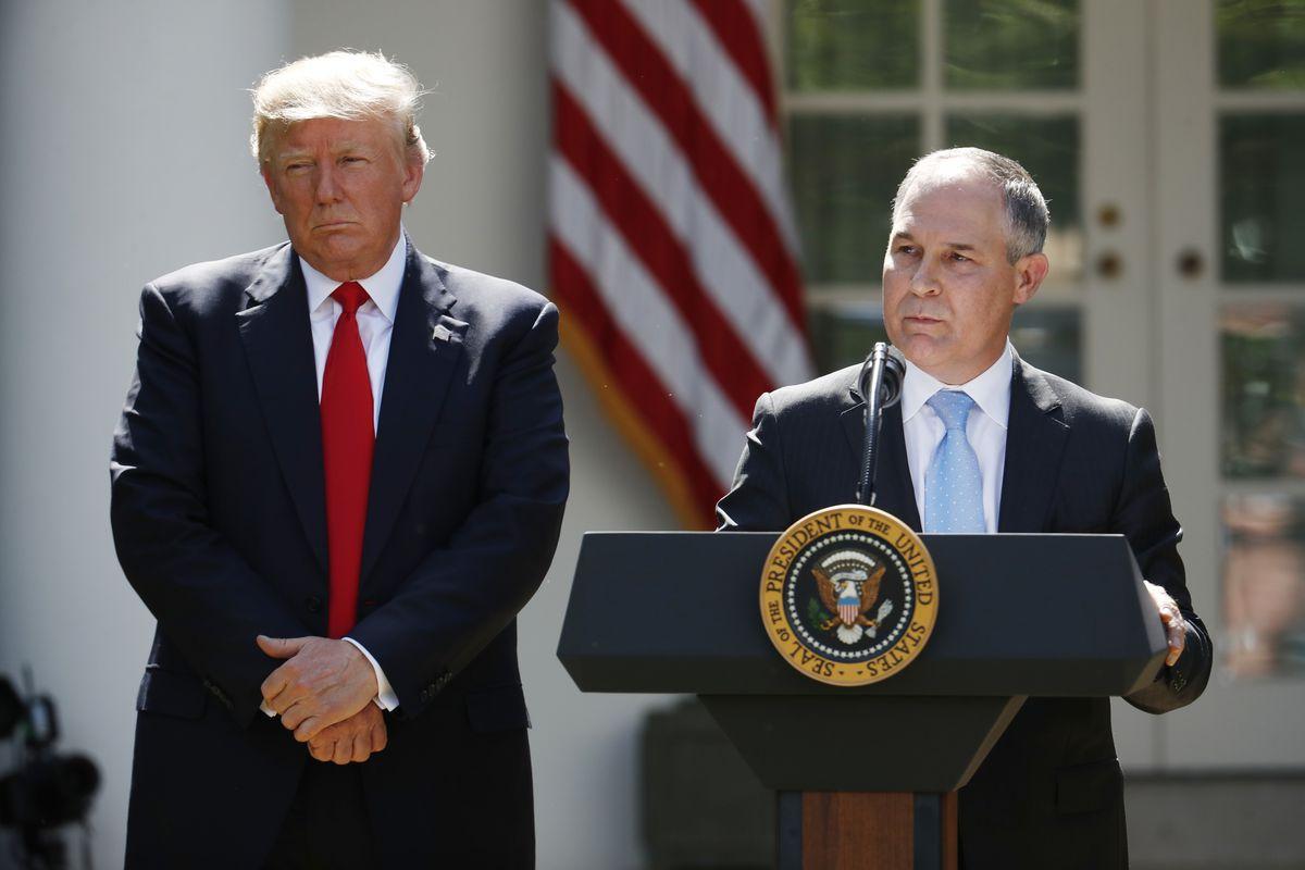 رئیس آژانس حفاظت از محیط زیست آمریکا استعفا کرد
