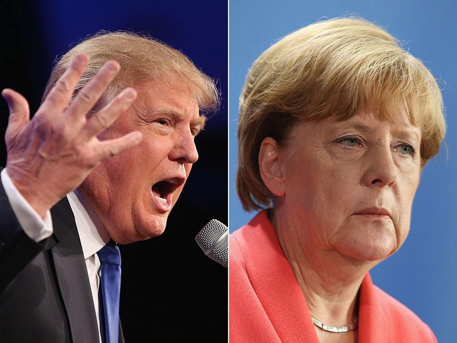 حمله ترامپ به صدراعظم آلمان: نمیتوانم بیش از این از آلمان دفاع کنم!