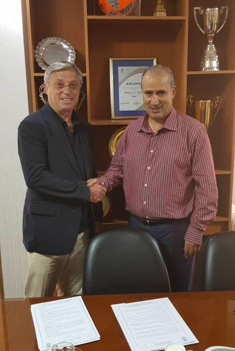 عقد قرارداد رسمی کرانچار با فدراسیون فوتبال + عکس