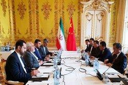 وزرای خارجه ایران و چین دیدار و گفتوگو کردند