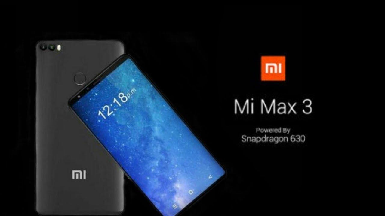 عکسهای واقعی Mi Max 3 منتشر شدند