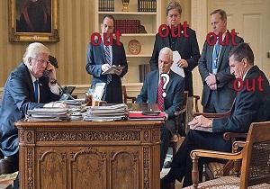 دولت ترامپ رکورددار سونامی اخراجها در کاخ سفید