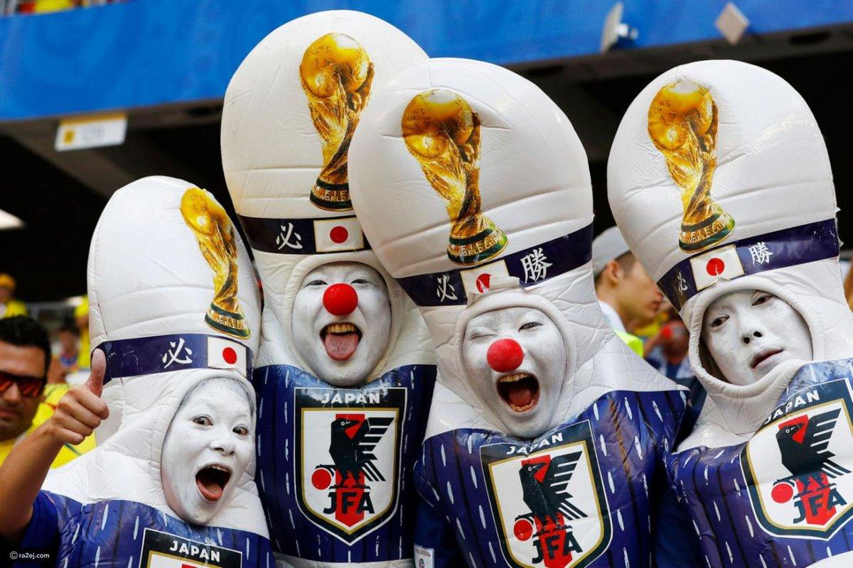 شکل و شمایل عجیب تماشاگران جام جهانی 2018 روسیه+تصاویر