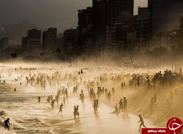 عکس روز نشنال جئوگرافیک از سواحل ریودوژانیرو