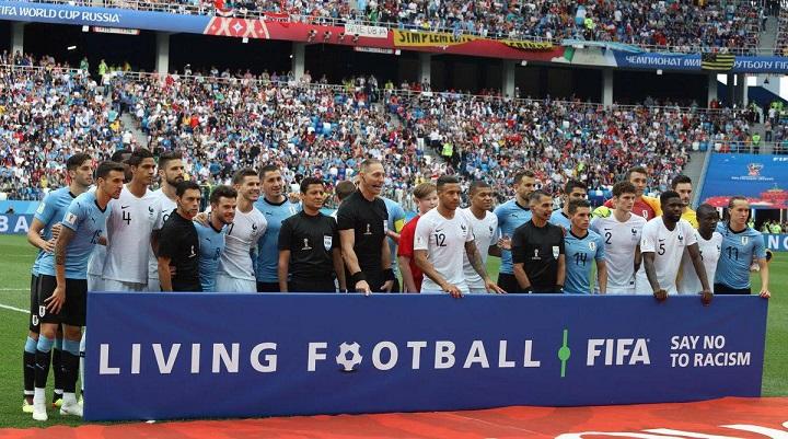 خلاصه و نتیجه دیدار فرانسه - اروگوئه