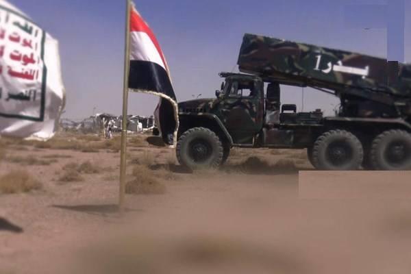 شلیک موشک بالستیک بدر یک به استان جیزان عربستان