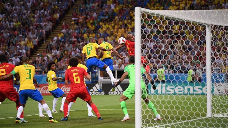 گزارش لحظه به لحظه/ برزیل صفر - بلژیک 1