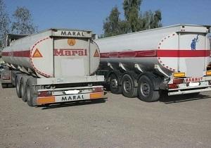 توقیف  ۷ دستگاه خودروی ترانزیتی حامل سوخت قاچاق در مرزهای شمالی سیستان و بلوچستان