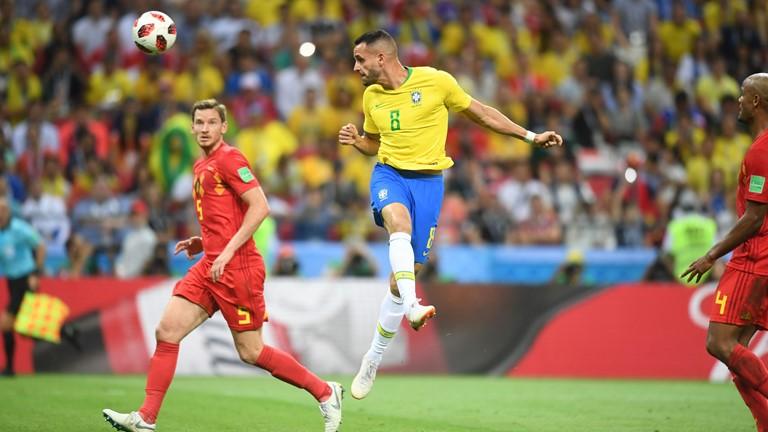 گزارش لحظه به لحظه/ برزیل 1 - بلژیک 2