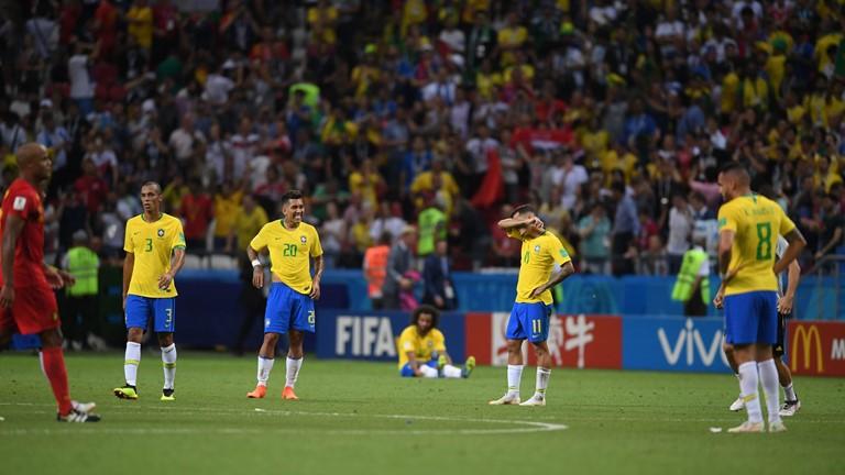 برزیل 1 - بلژیک 2/آتش شیاطین امید سلسائو را سوزاند