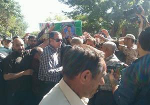 آغاز مراسم تشییع مرزبان مدافع وطن در خراسان شمالی