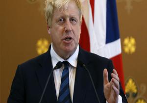 نخستوزیر انگلیس، بوریس جانسون را تهدید کرد