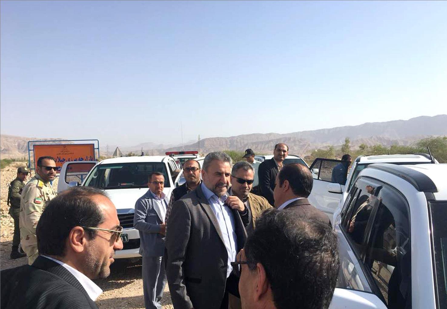 رئیس کمیسیون امنیت ملى مجلس از پایانه مرزى مهران بازدید کرد