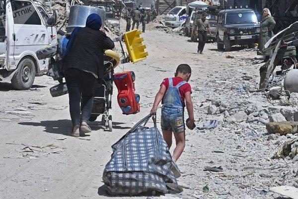 روند بازگشت آوارگان سوری مقیم لبنان به کشورشان ادامه دارد