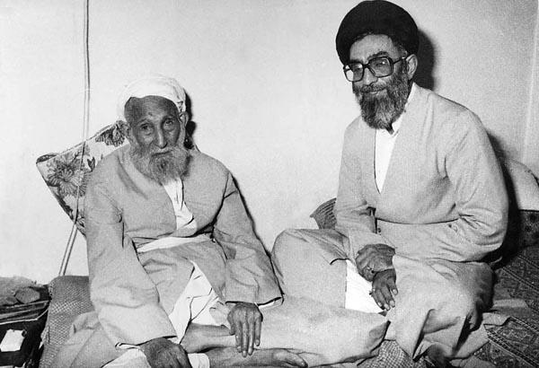 خاطرات مشترک امام خمینی (ره) با پدر مقام معظم رهبری/