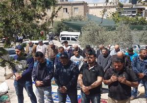 برگزاری نماز جمعه در خان الاحمر، پیام مقاومت مردم فلسطین به تجاوزگریهای صهیونیستی-آمریکایی
