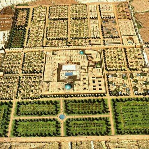 رَبع رشیدی یک مجموعه دانشگاهی شگفتانگیز