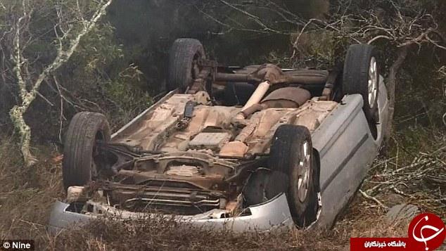 کودک 18 ماهه از سانحه وحشتناک رانندگی جان سالم به دربرد +تصاویر