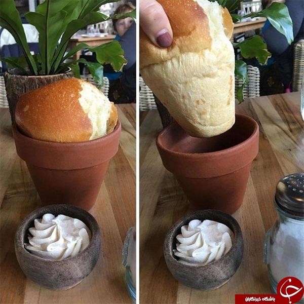 ابتکارعجیب رستوران ها برای غافلگیر کردن مشتریان +تصاویر