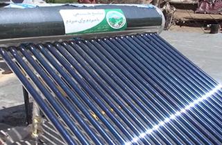 تابش گرمای آبگرمکنهای خورشیدی بر تن محیط زیست + فیلم
