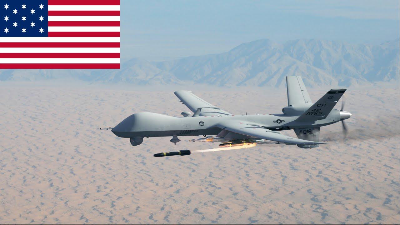 حمله هوایی آمریکا به یک خودروی القاعده در جوف یمن