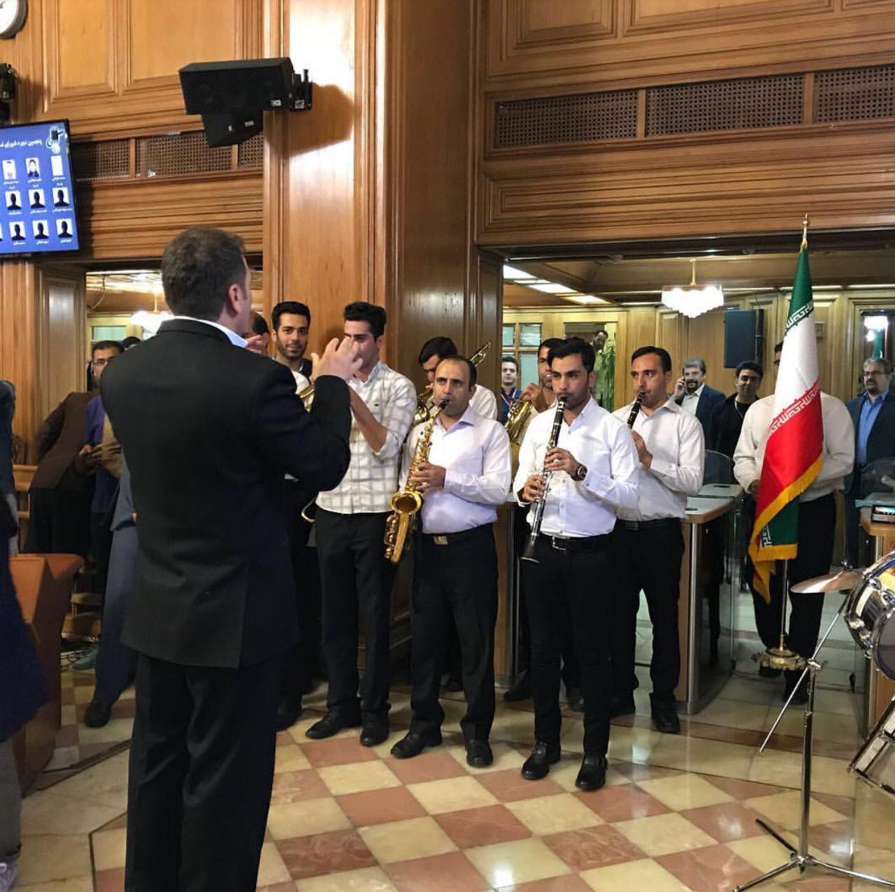 گرامیداشت روز پرچم در شورای شهر تهران + عکس
