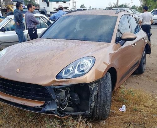 واکنش جالب سردار آزمون پس از سانحه تصادف با خودروی میلیاردی اش!