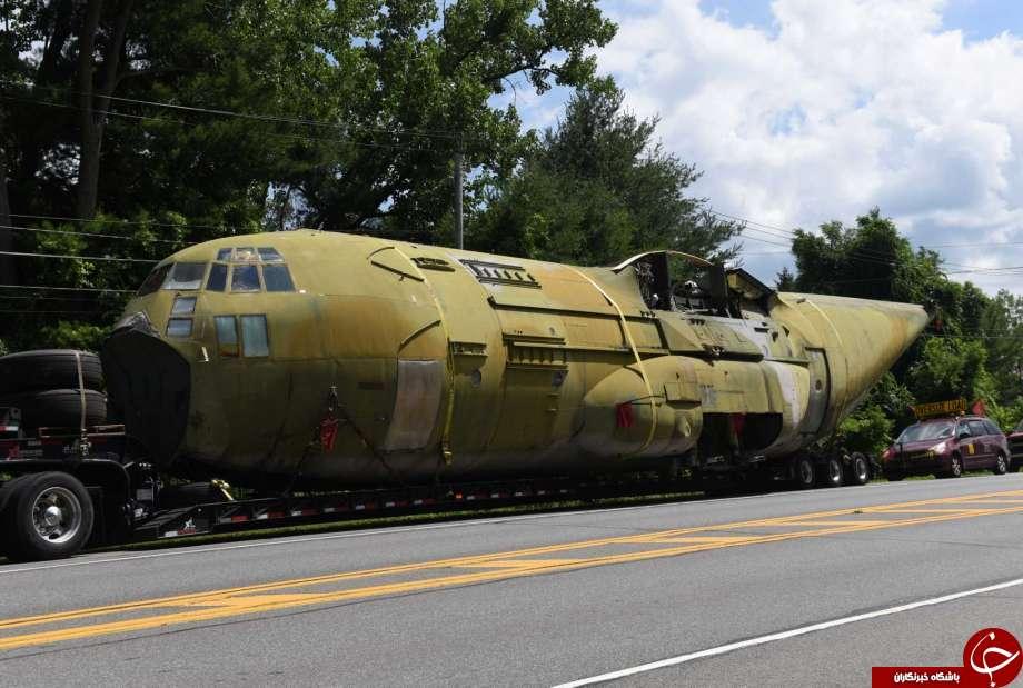 هواپیمای آمریکایی که در طبس شکست خورد، راهی موزه شد+تصاویر