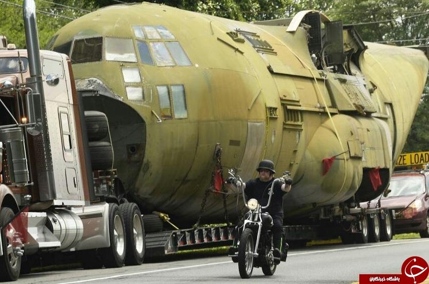 هواپیمایی که آمریکا برای عملیات در ایران طراحی کرده بود به موزه منتقل شد+ تصاویر