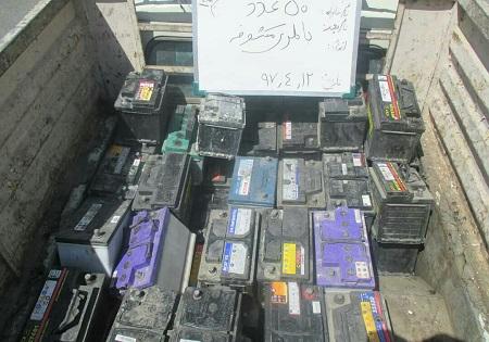 دستگیری سارقان باتری خودرو در شرق پایتخت