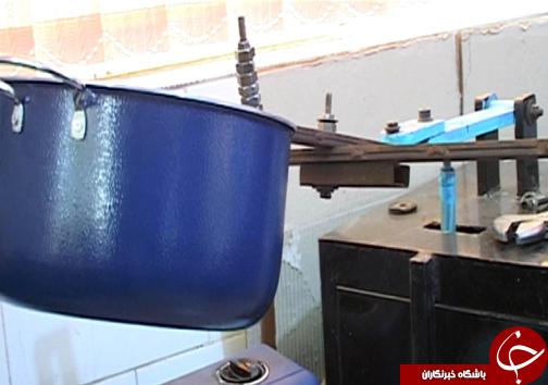 تولید ۱۵ قلم ظروف آشپزخانه در واحد تولیدی کارآفرین لرستانی/ ۱۷۰ نفر اشتغالزایی مستقیم با تولید کالای ایرانی + تصاویر