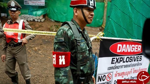شش نفر از دانش آموزان تایلندی گرفتار در غار نجات یافتند