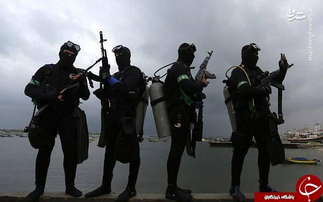 کماندوهای دریایی که خواب را از صهیونیستها گرفتهاند!/ نبرد با اسرائیل در زیر آب+ تصاویر