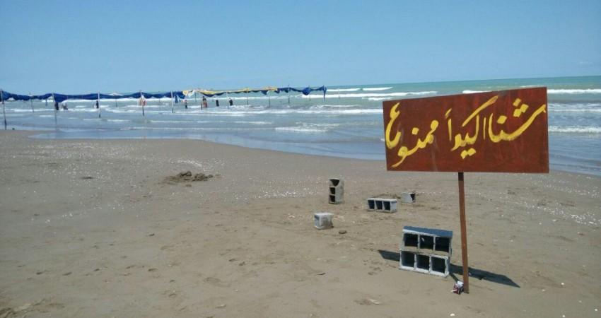 طرح سالم سازی وپرچم گذاری سواحل شماری در حال اجرا است