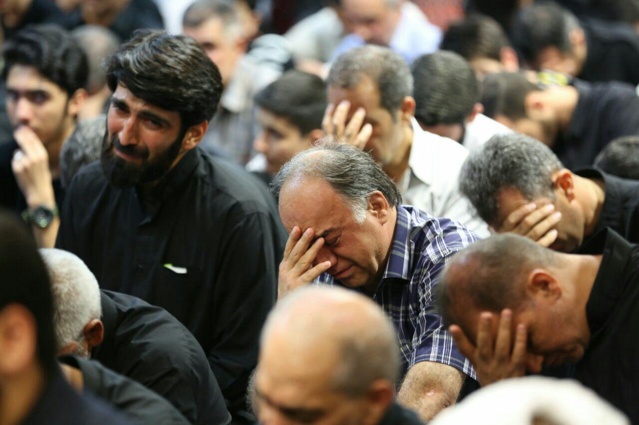 گزارش تصویری از مراسم عزاداری امام صادق (ع)