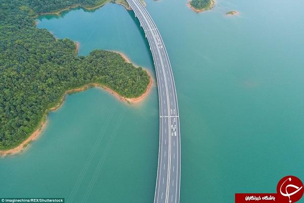 سفری لذتبخش در زیباترین بزرگراه دنیا+ تصاویر