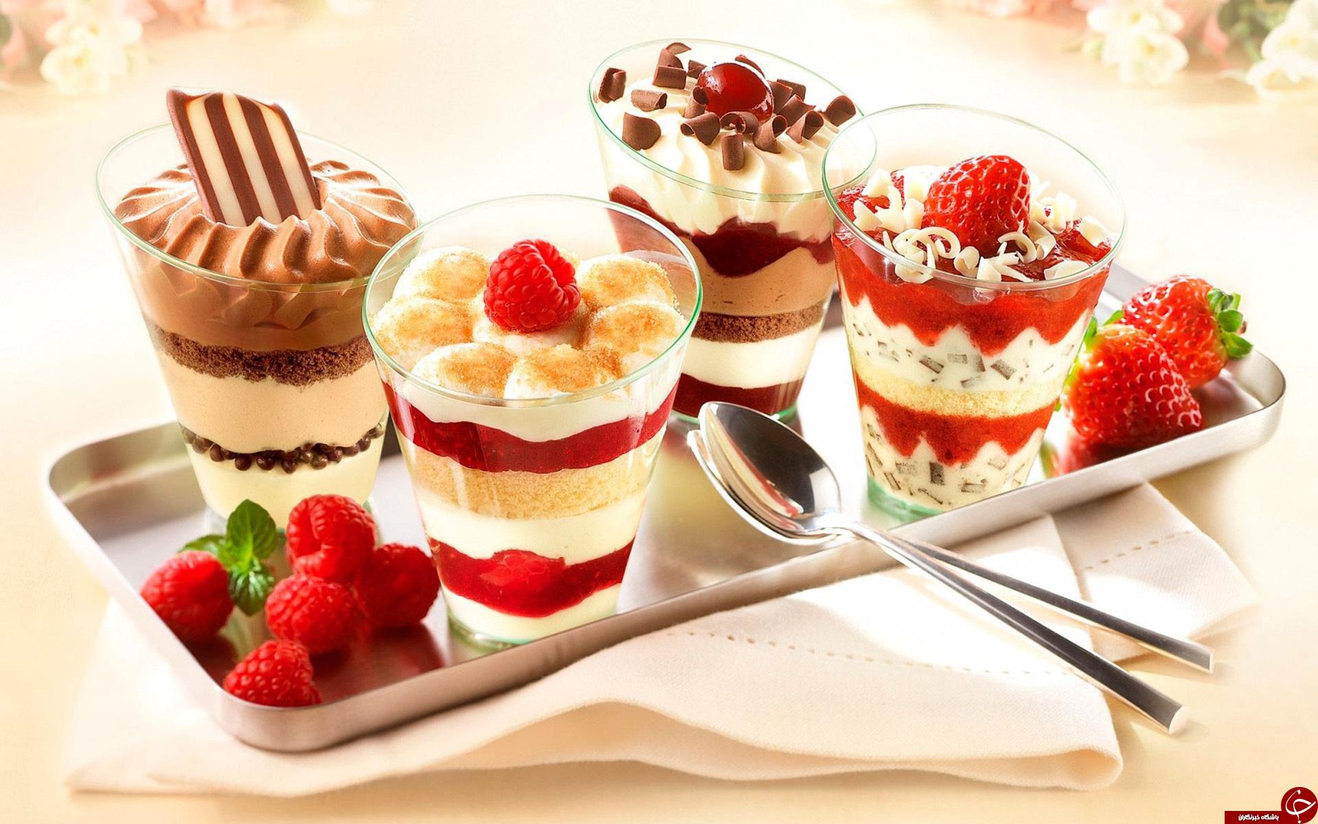 طرز تهیه بستنی میوه ای یکی از مقوی ترین بستنی های دلچسب تابستانی