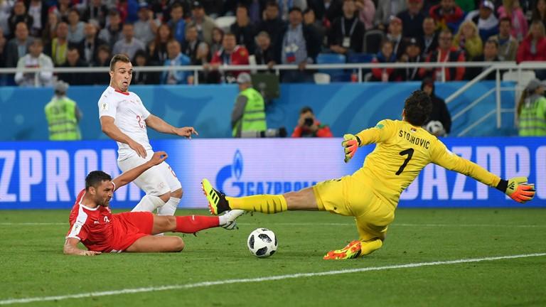 نتیجه لحظه به لحظه/سوئیس 2 - صربستان 1