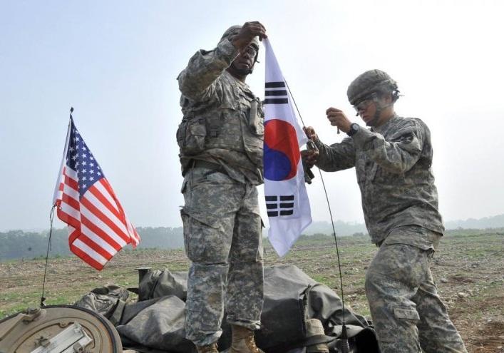 آمریکا برخی برنامههای مشترک نظامی با کره جنوبی را تعلیق کرد