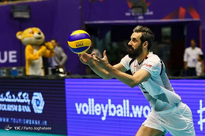 دیدار تیم های والیبال ایران و کره جنوبی-2