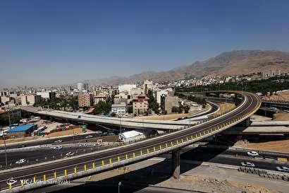 باشگاه خبرنگاران -بهره برداری از پل تقاطع ارتش - امام علی(ع) و ۵ پروژه ی عمرانی شهر تهران
